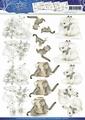 Precious Marieke knipvel Winter Animals CD10577*