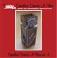 Crealies Create A Box Snijmal nummer 4   CCAB04 per stuk