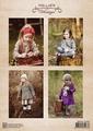 Nellie Snellen knipvel Vintage Fall Girls NEVI065 per vel