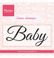 Marianne Design clear stamp Baby CS0958