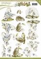 Precious Marieke knipvel Springtime Animals CD10620