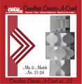 Crealies Create A Card nummer 22   CCAC22