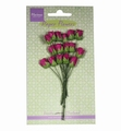 Marianne Design Paper Flowers Roses Bud Medium Pink  RB2241