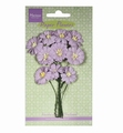 Marianne Design Paper Flowers Daisies Light Lavender  RB2254