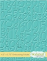 Taylored Expressions Embossing Folder Take a Number TEEF29