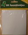 Foam blokjes 5x5 mm - 1,5 mm dik 3.3115