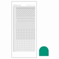 Hobbydots Sticker - Mirror - Emerald STDM19I