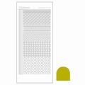 Hobbydots Sticker - Mirror - Yellow STDM19E per vel
