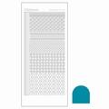 Hobbydots Sticker - Mirror - Turquoise STDM19D per vel