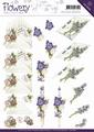 Precious Marieke knipvel Flowery - Flower Gift CD10668