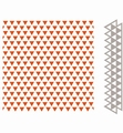 Marianne Design Embossing Folder + Die Triangles DF3428 per stuk