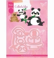 Marianne Design Collectables Elines Panda Bear COL1409