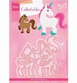 Marianne Design Collectables Elines Horse & Unicorn COL1408