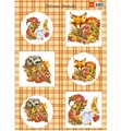 Marianne Design Knipvel Autumn Animals - Fox VK9546