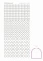 Hobbydots Sticker - Adhesive - White  STDA080