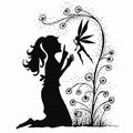 Lavinia Clear Stamp Fairy Wish LAV034