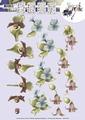 Precious Marieke knipvel Bloemen CD10729