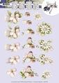 Precious Marieke knipvel Pink Flowers CD10728