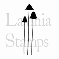 Lavinia Clear Stamp Quirky Mushrooms LAV413