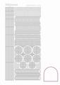 Hobbydots Sticker - Adhesive - White  STDA060 per vel