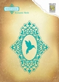 Nellie Snellen Vintasia Dies Romantic Birds Oval VIND041