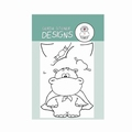 Gerda Steiner Clear Stamp Hippo in Disguise GSD444