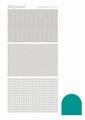 Hobbydots Sticker - Mirror - Emerald STDM07I per vel