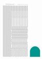 Hobbydots Sticker - Mirror - Emerald STDM02I per vel