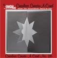 Crealies Create A Card nummer 26   CCAC26 per stuk