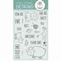 Gerda Steiner Clear Stamp How are Ewe? GSD414