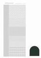 Hobbydots Sticker - Mirror - Christmas Green STDM04J per vel