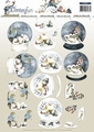 Precious Marieke knipvel Winter Fun - Globe Landscap CD10787