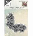 Joy Crafts Cutting & Embossing Stencil Rand Swirl 6002/0651*