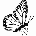 Lavinia Clear Stamp Flutterby Mini LAV444