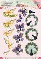Precious Marieke knipvel Seasonal Flowers Flora CD10803
