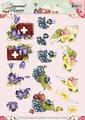 Precious Marieke knipvel Seasonal Flowers Beterschap CD10802