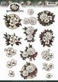 Yvonne Creations knipvel White Flowers CD10770