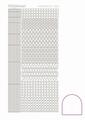 Hobbydots Sticker - Adhesive - White STDA090 per vel