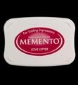 Memento Inktkussen Groot Love Letter ME-302