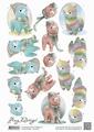 Amy Design knipvel Alpacas CD10810