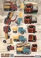 Amy Design knipvel Vintage Vehicles - Trucks CD10848