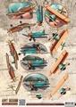 Amy Design knipvel Vintage Vehicles - Plains CD10847