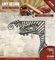 Amy Design Snijmal Vintage Vehicles Aircraft Corner ADD10098