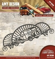 Amy Design Snijmal Vintage Vehicles Car Border ADD10095
