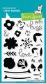 Lawn Fawn Clear Stamp Fab Flowers LF1332