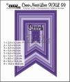 Crea-Nest-Lies set mallen nummer 59 XXL   CLNest59XXL per stuk