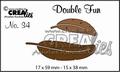 Crealies Double Fun Snijmal nr. 34 CLDF34