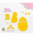 Nellie Snellen Shape Die Build Up Chicken & Egg SD128