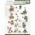 Precious Marieke knipvel Fantastic Flowers Poppy CD10855