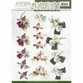 Precious Marieke knipvel Fantastic Flowers Orchid CD10854